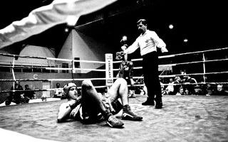 Uma noite de Boxe