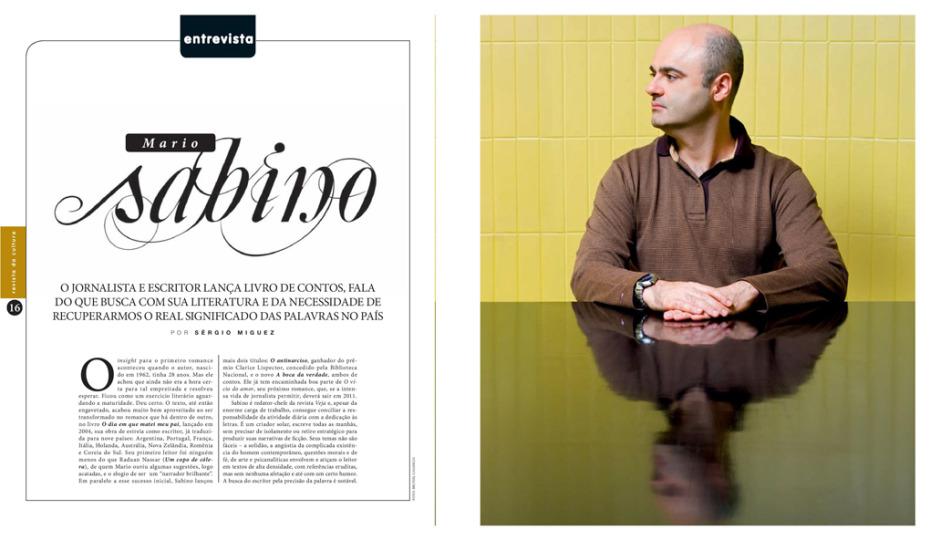 Mário Sabino - Escritor