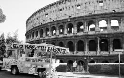 o Coliseu - Roma - Itália
