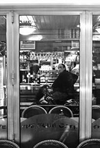 the Blue Cafe - Paris - França